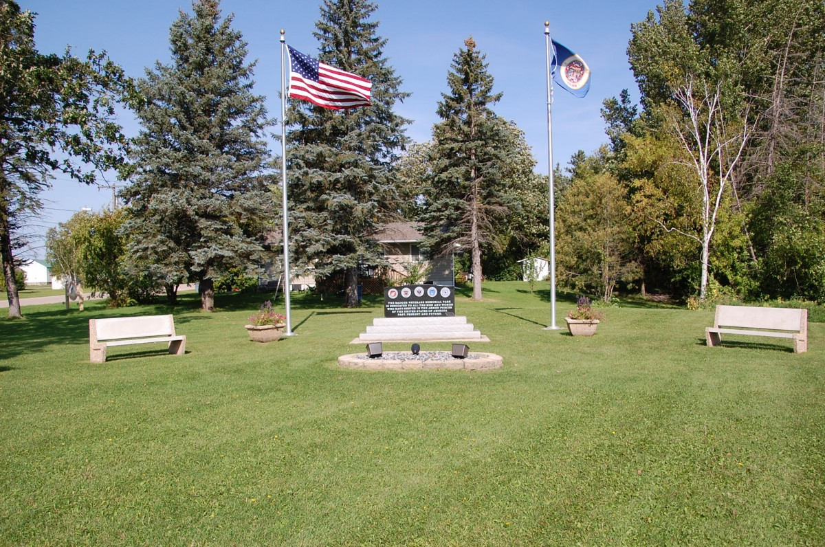 """The current Badger Veterans Park will be the home of the Badger Heritage Wall and Veterans Memorial. The wall is projected to be dedicated at Badger Fall Fest 2017, but it all hinges on funding, as the committee could access grants, but some of these grant require matching funds, meaning a need for more donations. People can send """"Badger Community Fund Veteran Park Special Project"""" donations to Border State Bank in care of Christine Modahl (PO Box 69, 202 North Main Street Badger, MN, 56714)."""