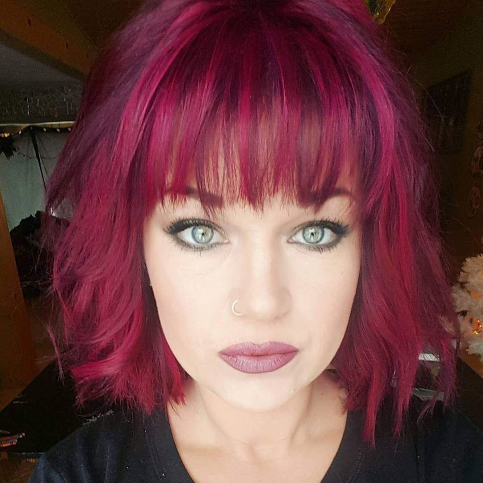"""Leslie Sondreal poses for a selfie, as a way to help promote her business """"Shut up and Make with Leslie"""". She promotes most of her business on Facebook, a resource she uses to post many selfies (photos of herself) depicting her makeup work and photos of past events, proms, and weddings. (submitted photo)"""