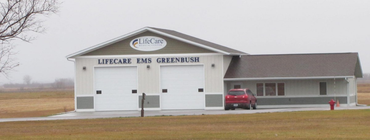The new LifeCare EMS complex has been home to the Greenbush EMT staff and emergency equipment since June 1, 2016. (photos by Mavis Gonshorowski)