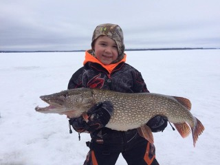 Hayden picard, big pike-sunset lodge