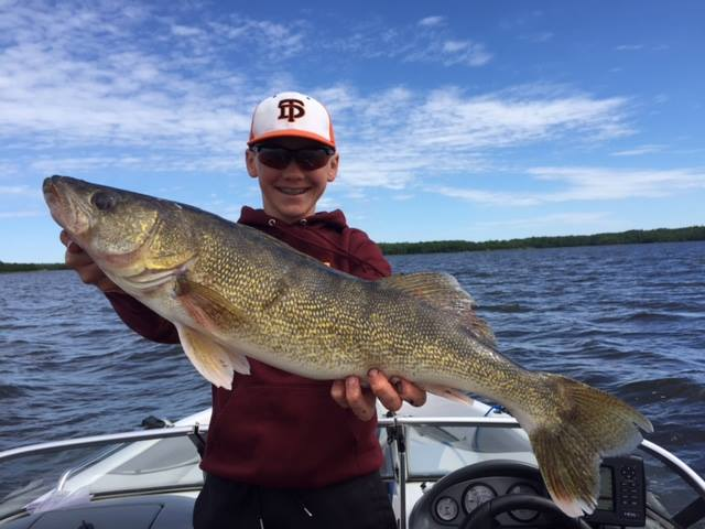 Flag Island Resort- 28.5 inch walleye
