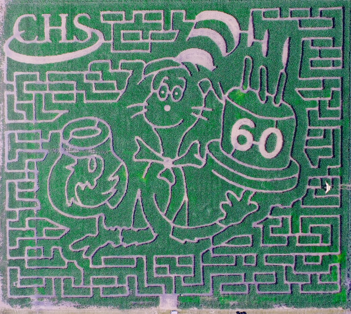 The Valley Corn Maize opens this weekend at K&D Krueger Farms and Sons just outside of East Grand Forks. The theme for this year is Dr. Seuss's The Cat in ...