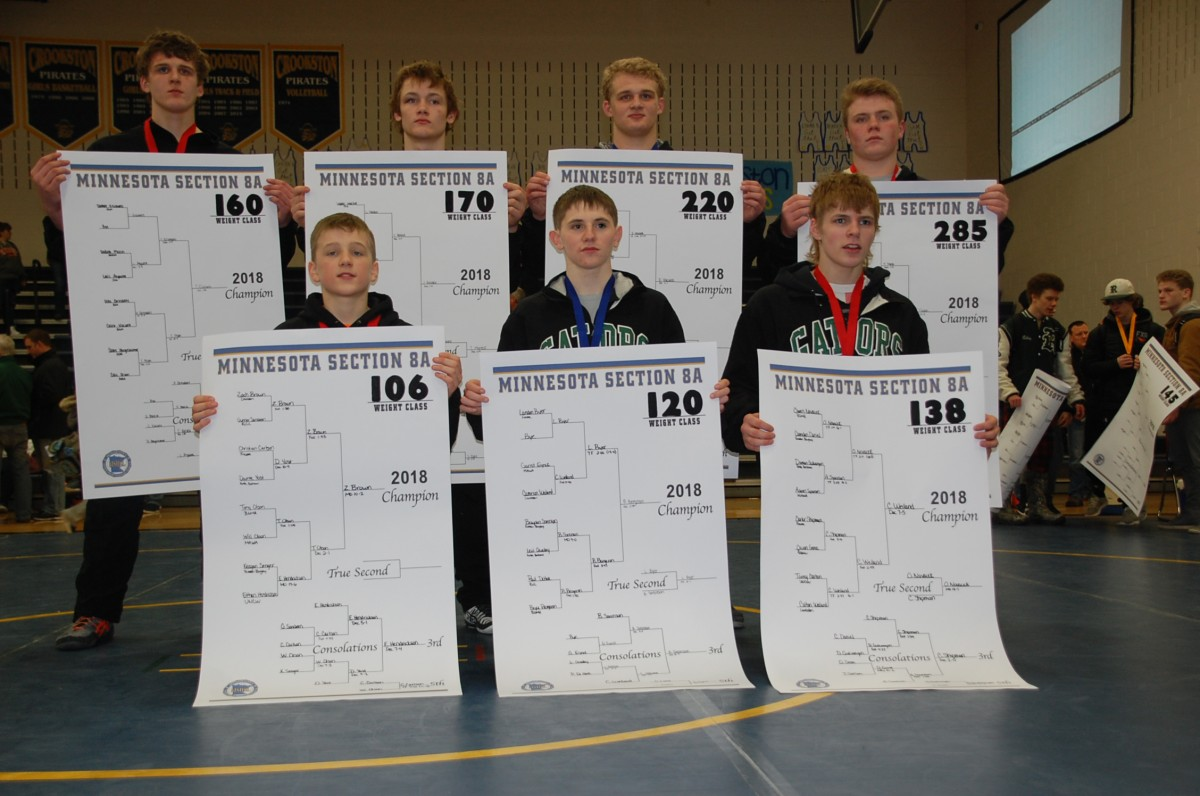 Seven Gator wrestlers advance to state tournament – Page 1 Publications