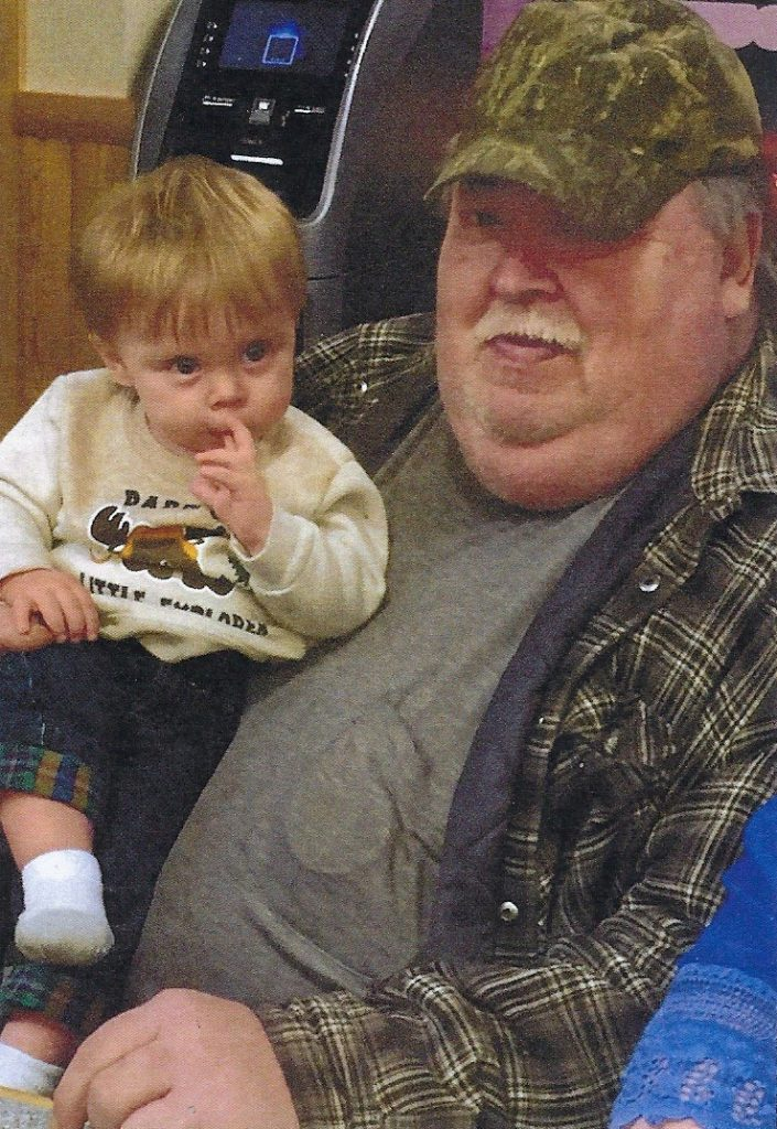 Mike Yager and his grandson, Avery.
