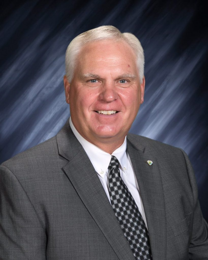 """Larry Guggisberg started on as the new part-time superintendent of the GMR School District in July. In this new job, he has quickly discovered what he described as the """"impressive"""" support surrounding GMR-- people with great pride in their school and community and a desire to see its school advance. (submitted photo)"""